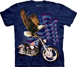 Born To Ride - Eagle, T-Shirt, The Mountain