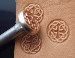 CELTIC KNOT, leather stamp