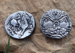 CELTIC TETRADRACHM from NORICUM, replica