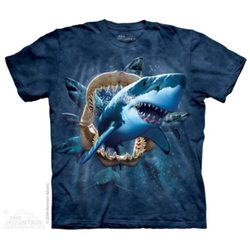 Shark Attack - Aquatic Shirt, The Mountain, t-shirt