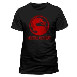 Mortal Kombat - Distressed Logo