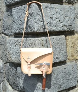 GEO FIELD BAG, leather geologist bag