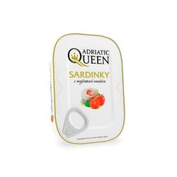 Sardines in tomato paste 105 g - Adriatic Queen