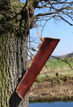 Leather Quiver for arrows