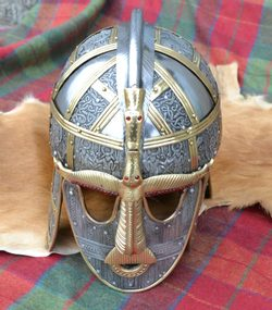 Sutton Hoo Ceremonial Helmet, replica
