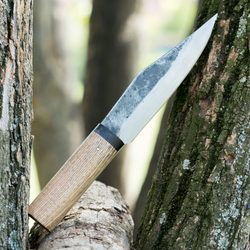 VIDAR, forged knife - seax