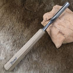 WOOD CHISEL, hand forged, type XXII