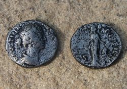FAUSTINA II., 150 - 180, As, replica of a Roman coin