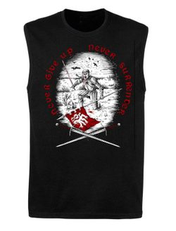 Never Give Up, Never Surrender, sleeveless T-Shirt