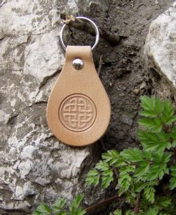 Celtic Key Ring