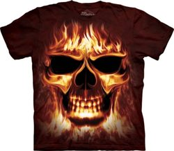 SKULLFIRE, T-Shirt, The Mountain