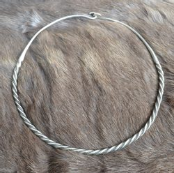 VIKING SILVER NECKLACE, 65 g, Ag 925