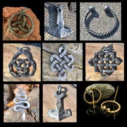 FORGED JEWELRY, wholesale set of 9 pieces