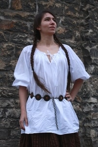 WOMEN'S SHIRT - BAROQUE, RENAISSANCE - COSTUMES FOR WOMEN{% if kategorie.adresa_nazvy[0] != zbozi.kategorie.nazev %} - SHOES, COSTUMES{% endif %}