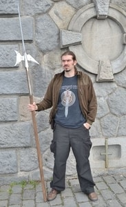 RENAISSANCE HALBERT, REPLICA OF A POLE WEAPON - AXES, POLEWEAPONS{% if kategorie.adresa_nazvy[0] != zbozi.kategorie.nazev %} - WEAPONS - SWORDS, AXES, KNIVES{% endif %}
