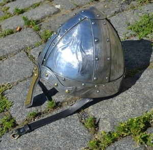 NORMAN NASAL HELMET, WELL DECORATED - VIKING AND NORMAN HELMETS{% if kategorie.adresa_nazvy[0] != zbozi.kategorie.nazev %} - ARMOUR HELMETS, SHIELDS{% endif %}