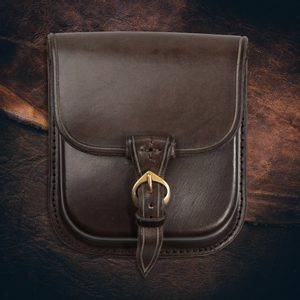 GENTLEMAN, LEATHER BELT BAG - BROWN - BAGS, SPORRANS{% if kategorie.adresa_nazvy[0] != zbozi.kategorie.nazev %} - LEATHER PRODUCTS{% endif %}