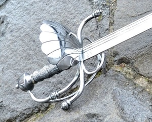 DUSSACK, SHELL HILT, GERMANY, END OF XVI. CENTURY - RENAISSANCE SWORDS, RAPIERS, SABRES{% if kategorie.adresa_nazvy[0] != zbozi.kategorie.nazev %} - WEAPONS - SWORDS, AXES, KNIVES{% endif %}