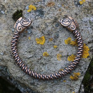 PICTISH BOAR BRACELET, BRONZE - VIKING, SLAVIC, CELTIC BRACELETS - BRONZE AND BRASS{% if kategorie.adresa_nazvy[0] != zbozi.kategorie.nazev %} - JEWELLERY{% endif %}