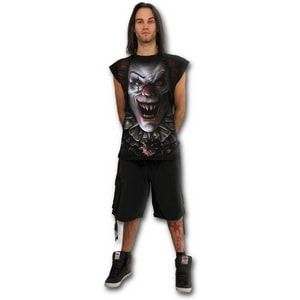 CIRCUS OF TERROR - SLEEVELESS T-SHIRT BLACK - MEN'S T-SHIRTS, SPIRAL DIRECT{% if kategorie.adresa_nazvy[0] != zbozi.kategorie.nazev %} - T-SHIRTS, BOOTS{% endif %}