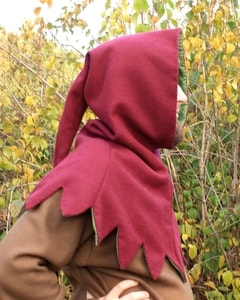 MEDIEVAL WOOLEN HOOD - HATS FOR MEN{% if kategorie.adresa_nazvy[0] != zbozi.kategorie.nazev %} - SHOES, COSTUMES{% endif %}
