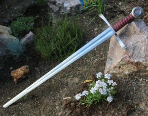 CONWAL SINGLE HANDED MEDIEVAL SWORD FULL TANG - MEDIEVAL SWORDS{% if kategorie.adresa_nazvy[0] != zbozi.kategorie.nazev %} - WEAPONS - SWORDS, AXES, KNIVES{% endif %}