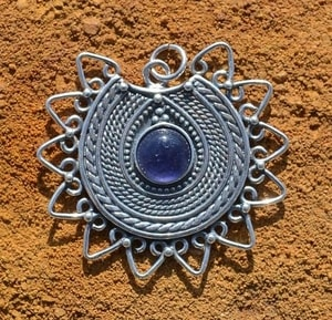 LADA, SLAVIC PENDANT INSPIRATED BY IX. CENTURY MORAVIAN FINDS, AG 925 - FILIGREE AND GRANULATED REPLICA JEWELS{% if kategorie.adresa_nazvy[0] != zbozi.kategorie.nazev %} - JEWELLERY{% endif %}