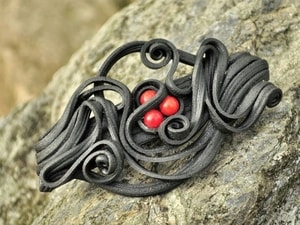 HAIR BROOCH WITH CORALS - FANTASY JEWELS{% if kategorie.adresa_nazvy[0] != zbozi.kategorie.nazev %} - JEWELLERY{% endif %}