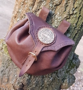CERNUNNOS, LEATHER BAG BROWN, BRONZE - BAGS, SPORRANS{% if kategorie.adresa_nazvy[0] != zbozi.kategorie.nazev %} - LEATHER PRODUCTS{% endif %}