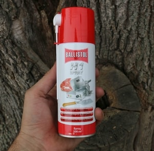 BALLISTOL H1 SPRAY FOR FOOD INDUSTRY, 200 ML - SWORD ACCESSORIES, SCABBARDS{% if kategorie.adresa_nazvy[0] != zbozi.kategorie.nazev %} - WEAPONS - SWORDS, AXES, KNIVES{% endif %}