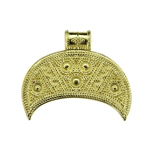 LUNULA, GREAT MORAVIAN EMPIRE, 9TH CENTURY, REPLICA, 14K GOLD - GOLDEN JEWELLERY{% if kategorie.adresa_nazvy[0] != zbozi.kategorie.nazev %} - JEWELLERY{% endif %}