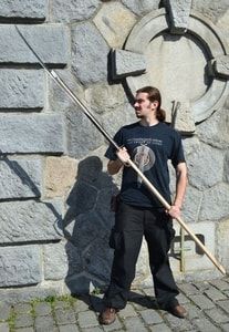 JEDBURGH STAFF OR JEDDART AXE, SCOTTISH WEAPON, REPLICA - AXES, POLEWEAPONS{% if kategorie.adresa_nazvy[0] != zbozi.kategorie.nazev %} - WEAPONS - SWORDS, AXES, KNIVES{% endif %}