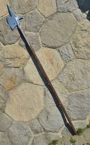 HALBERD V, REPLICA OF A POLE WEAPON - AXES, POLEWEAPONS{% if kategorie.adresa_nazvy[0] != zbozi.kategorie.nazev %} - WEAPONS - SWORDS, AXES, KNIVES{% endif %}