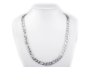 STAINLESS STEEL FLAT CHAIN 0.9X55 CM - CORDS, BOXES, CHAINS{% if kategorie.adresa_nazvy[0] != zbozi.kategorie.nazev %} - JEWELLERY{% endif %}