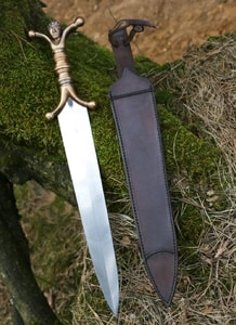 MAEG, CELTIC ANTHROPOMORPHIC BRONZE DAGGER - COSTUME AND COLLECTORS' DAGGERS{% if kategorie.adresa_nazvy[0] != zbozi.kategorie.nazev %} - WEAPONS - SWORDS, AXES, KNIVES{% endif %}