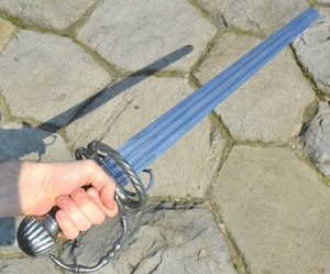 KATZBALGER, SHORT RENAISSANCE ARMING SWORD - FALCHIONS, SCOTLAND, OTHER SWORDS{% if kategorie.adresa_nazvy[0] != zbozi.kategorie.nazev %} - WEAPONS - SWORDS, AXES, KNIVES{% endif %}