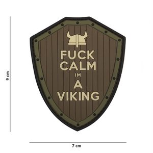 FUCK CALM VIKING NÁŠIVKA, SUCHÝ ZIP - MILITARY PATCHES{% if kategorie.adresa_nazvy[0] != zbozi.kategorie.nazev %} - TORRIN OUTDOOR SHOP{% endif %}