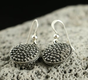 MILA, EARLY MEDIEVAL SILVER EARRINGS - EARRINGS - HISTORICAL JEWELRY{% if kategorie.adresa_nazvy[0] != zbozi.kategorie.nazev %} - JEWELLERY{% endif %}