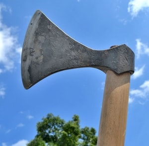 SKJALDBORG, FORGED VIKING AXE - AXES, POLEWEAPONS{% if kategorie.adresa_nazvy[0] != zbozi.kategorie.nazev %} - WEAPONS - SWORDS, AXES, KNIVES{% endif %}