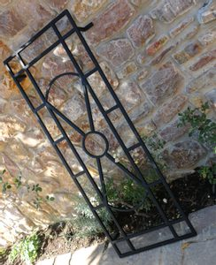 ART DECO - TRELLIS FORGED GARDEN DÉCOR - FORGED PRODUCTS{% if kategorie.adresa_nazvy[0] != zbozi.kategorie.nazev %} - SMITHY WORKS{% endif %}