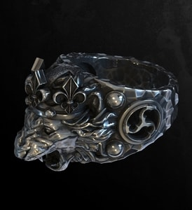 LION, KING'S SILVER RING - RINGS - HISTORICAL JEWELRY{% if kategorie.adresa_nazvy[0] != zbozi.kategorie.nazev %} - JEWELLERY{% endif %}