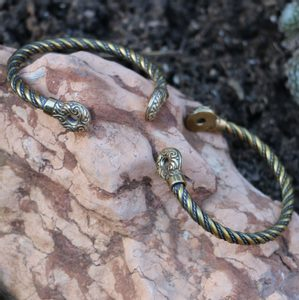 GALLIA, CELTIC BRACELET OF RIX, BRASS - VIKING, SLAVIC, CELTIC BRACELETS - BRONZE AND BRASS{% if kategorie.adresa_nazvy[0] != zbozi.kategorie.nazev %} - JEWELLERY{% endif %}