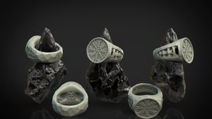 AEGISHJÁLMUR - HELM OF AWE, VIKING RING, SILVER - ROCK - RINGS - HISTORICAL JEWELRY{% if kategorie.adresa_nazvy[0] != zbozi.kategorie.nazev %} - JEWELLERY{% endif %}