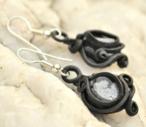 OBSIDIAN  EARRINGS - FANTASY JEWELS{% if kategorie.adresa_nazvy[0] != zbozi.kategorie.nazev %} - JEWELLERY{% endif %}