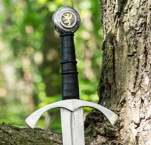 GRIFFIN, ONE-HANDED SWORD - MEDIEVAL SWORDS{% if kategorie.adresa_nazvy[0] != zbozi.kategorie.nazev %} - WEAPONS - SWORDS, AXES, KNIVES{% endif %}