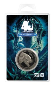 ALIEN COLLECTABLE COIN 40TH ANNIVERSARY SILVER EDITION - ALIEN{% if kategorie.adresa_nazvy[0] != zbozi.kategorie.nazev %} - LICENSED MERCH - FILMS, GAMES{% endif %}