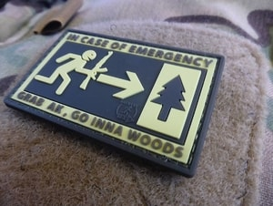 IN EMERGENCY, 3D VELCRO PATCH - MILITARY PATCHES{% if kategorie.adresa_nazvy[0] != zbozi.kategorie.nazev %} - OUTDOOR SHOP{% endif %}