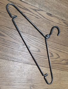 CLOTHES HANGER, FORGED - FORGED IRON HOME ACCESSORIES{% if kategorie.adresa_nazvy[0] != zbozi.kategorie.nazev %} - SMITHY WORKS{% endif %}