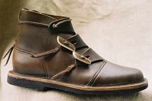 VIKING LEATHER SHOES - HEDEBY - VIKING, SLAVIC BOOTS{% if kategorie.adresa_nazvy[0] != zbozi.kategorie.nazev %} - SHOES, COSTUMES{% endif %}