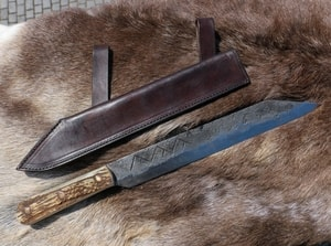 ULFHEDNAR, FORGED VIKING SEAX - KNIVES{% if kategorie.adresa_nazvy[0] != zbozi.kategorie.nazev %} - WEAPONS - SWORDS, AXES, KNIVES{% endif %}